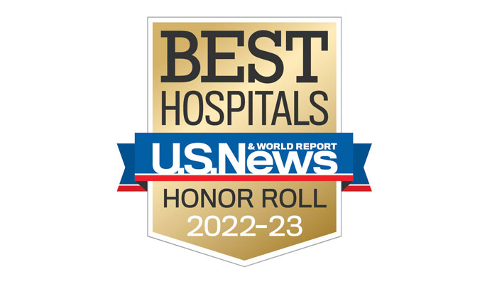 U.S. News & World Report Best Hospitals Logo