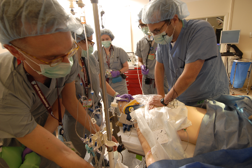 Anesthesiology Residency Program - simulation training