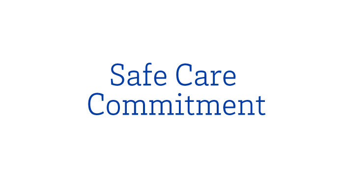 Safe Care commitment logo