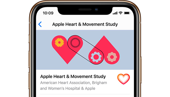 Apple Launches New Study with BWH and AHA