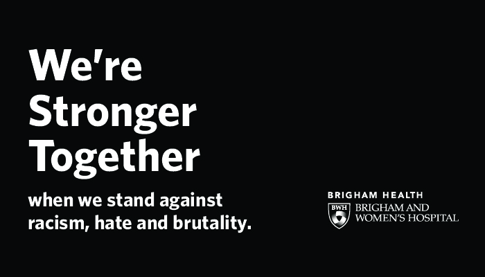We're stronger together when we stand against racism, hate, and brutality.