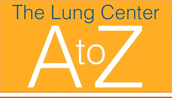 The Lung Center A to Z Listing