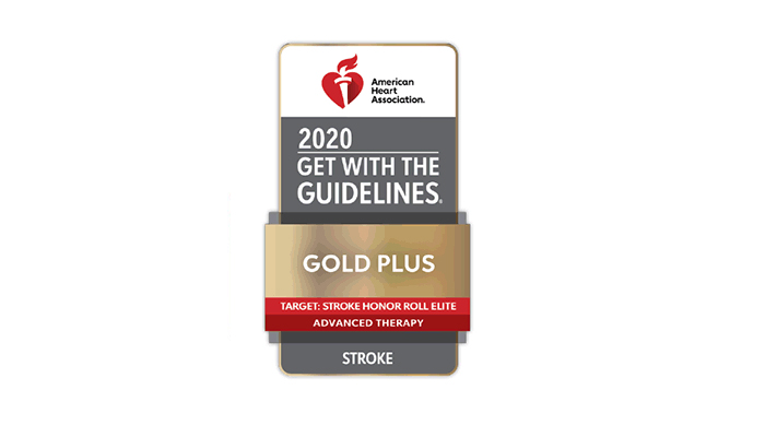 Get With The Guidelines®-Stroke, and Target: Stroke Award