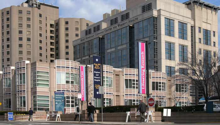 Pediatric Newborn Medicine at the Boston Main campus, Brigham and Women's Hospital.