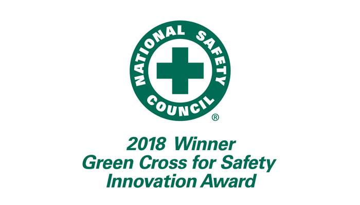 Green Cross for Safety Innovation Award Winner